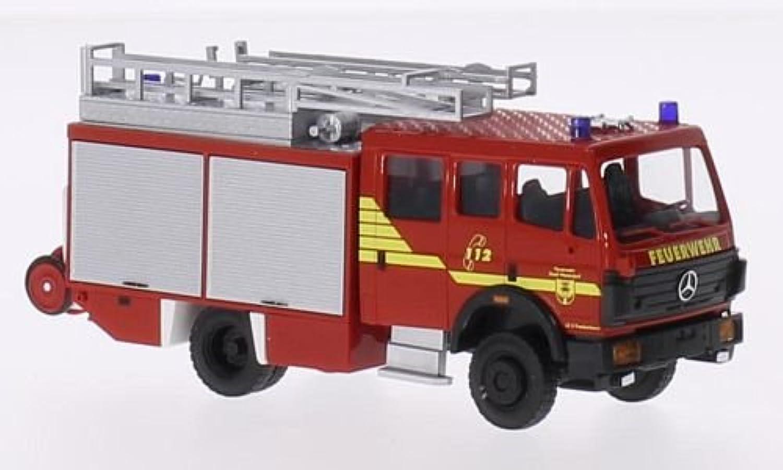 Mercedes 1224, Feuerwehr Warendorf, 1994, Modellauto, Fertigmodell, Busch 1 87 B01DO8ZV9Y Guter weltweiter Ruf  | Diversified In Packaging