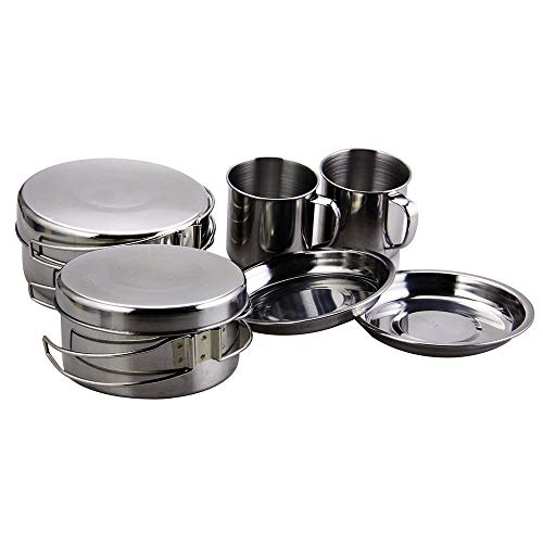 begrit mini camping cooking set for hiking