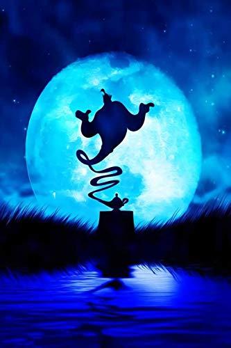 qwwqww Rompecabezas para Adultos, 1000 Piezas, Juego de desafío para niños y Adultos, lámpara mágica de Aladino 50x75cm