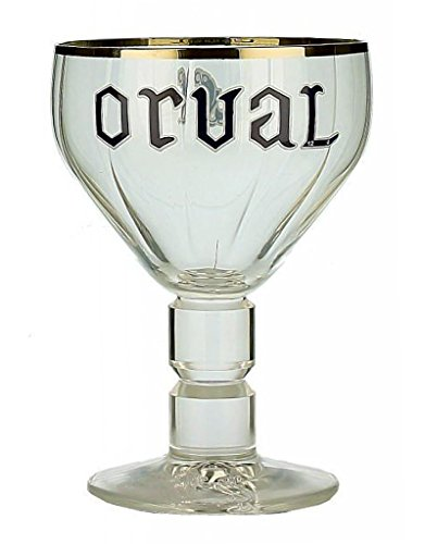 Orval Trappist Chalice 33cl Beer Glass