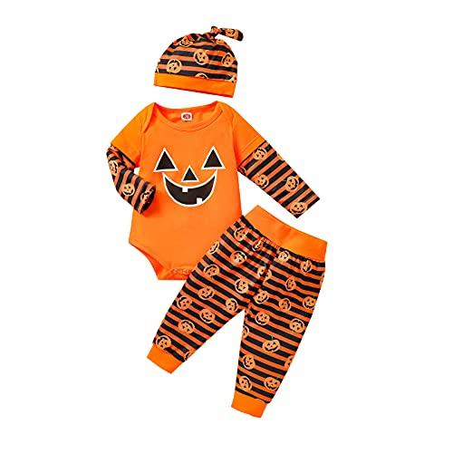 Yassiglia Completo di Halloween per Neonati Tutine...