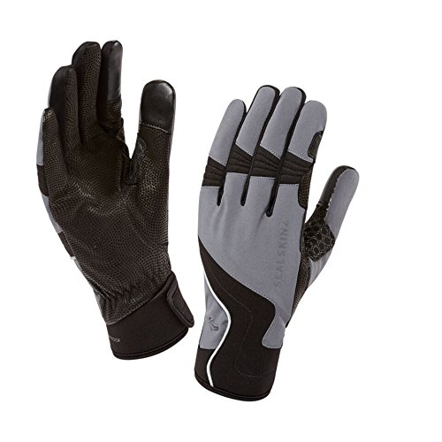 SealSkinz Herren Nordic Walking Handschuhe Norge, Grey & Black, L