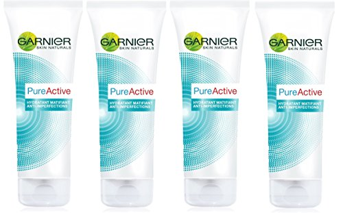 Garnier - Pure Activo - Cara Mate - Matificantes Care Pack 4