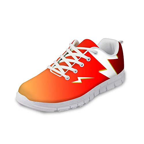 MODEGA Zapatos Dorados Tienda Online Zapatillas Ofertas Zapatillas Running Mujer Zapatos Rojos Mujer Zapatos de Moda Hombre Bambas Deportivas Mujer za 8UK|43 EU