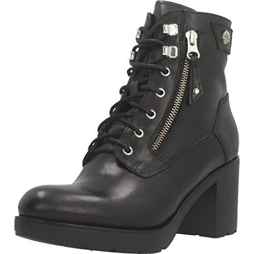 Botas para Mujer, Color Negro, Marca NERO GIARDINI, Modelo Botas para Mujer NERO GIARDINI A909663D Negro