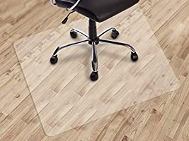 Dinosaur-SG Office Chair mat for Hard Floors, Transparent Floor Mats, Easy Glide for Chairs,Wood/Tile Protection Mat for...