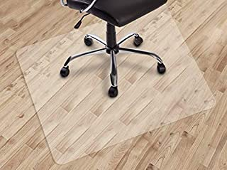 Dinosaur-SG Office Chair mat for Hard Floors, Transparent Floor Mats, Easy Glide for Chairs,Wood/Tile Protection Mat for O...