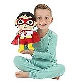 Franco Kids Bedding Super Soft Plush Mini Cuddle Pillow Buddy, One Size, Ryan's World Red Titan
