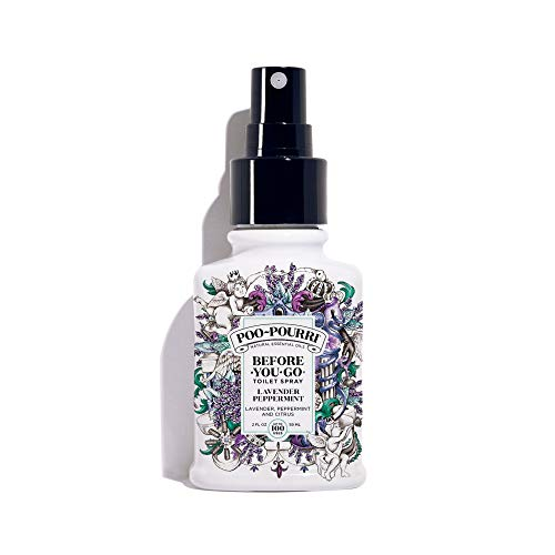 Poo-Pourri Before-You-go Toilet Spray, Lavender Peppermint Scent, 2 Fl Oz