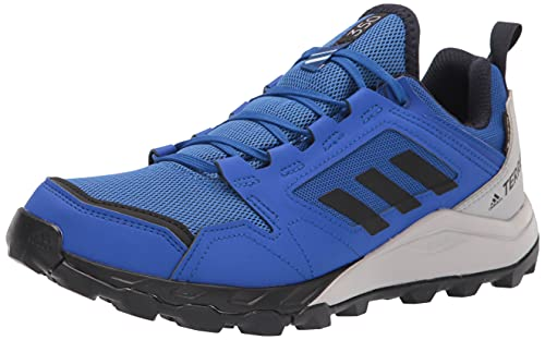 adidas Men's Terrex Agravic TR Gore-tex Trail Running Shoe, Bold Blue/Black/Ink, 10.5
