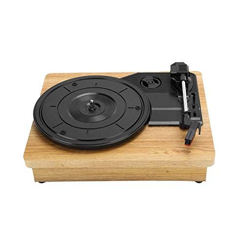 Bdesign Reproductor de grabación de vinilo portátil,...