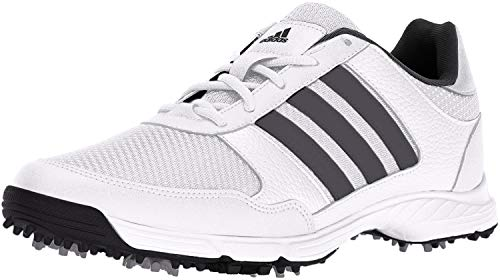 adidas Men's Tech Response Golf Shoe, White, 10.5 M US