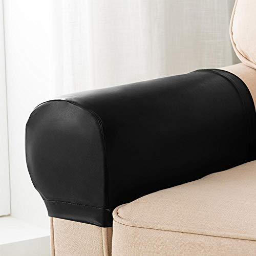 Evenlyao 2pcs Armlehnenbezug Sofa Auto Stuhl Armlehnenschoner Sesselschoner Sesselhusse Dehnbares Gewebe Für Ihre Möbel Für Stoff- Und Leder-Liegestühle, Sessel, Loveseats Und Sofas