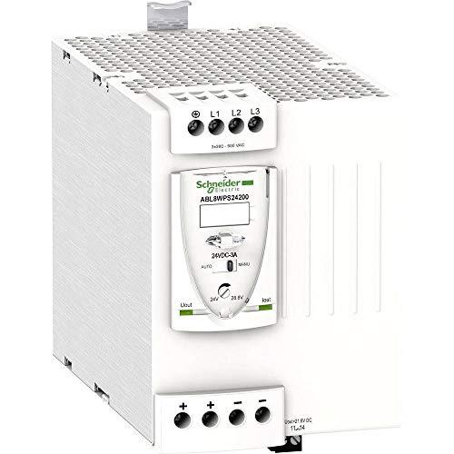 Schneider Electric ABL8WPS24200 Fuente De Alimentación Conmutada Modular, 3 Fases, 400 V Ca, 24 V, 20 A