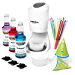 Hawaiian Shaved Ice S900A Shaved Ice and Snow Cone Machine with 3 Flavor Syrup Pack and Accessories (Renewed)