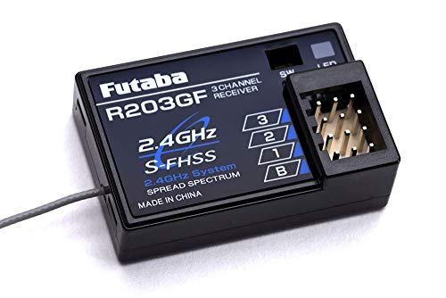 Futaba R203GF 3-Channel Receiver 2.4GHz S-FHSS/FHSS (P-R203GF/2-4G)
