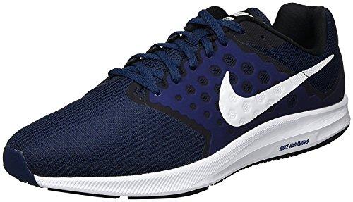 Nike Mens Downshifter 7 Running Shoe Midnight Navy/White/Dark Obsidian/Black Size 11.5 M US