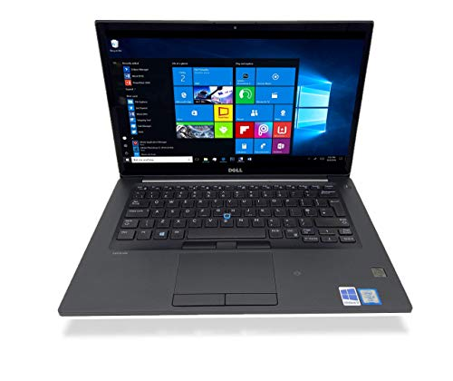 Dell Latitude 7480 i5-6300U 2.4Ghz 8Gb RAM 256GB SSD 14.1' 1920 x 1080, Webcam, Windows 10 Pro 64 BIT (Renewed)