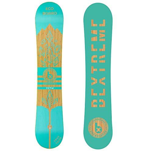 Bextreme - Tavola da snowboard Freestyle Diamond 2019, ecologica, in bambù, faggio e pioppo, misure 152, 157 e 160 cm, Snow per uomo e donna, unisexo, 152cm