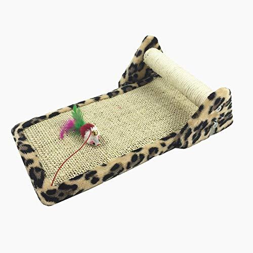 Axiba speeltorens bomen voor katten huisdier benodigdheden kat speelgoed loopband sisal kat krasplank 40 * 24 * 11 cm plaat/touw/flanel, B