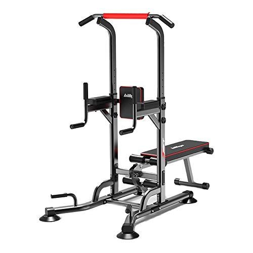 Power Tower ajustable, dispositivo de entrenamiento Dip Station, barra de dominadas, entrenamiento de fuerza, multifunción, soporte de entrenamiento Push Up Fitness
