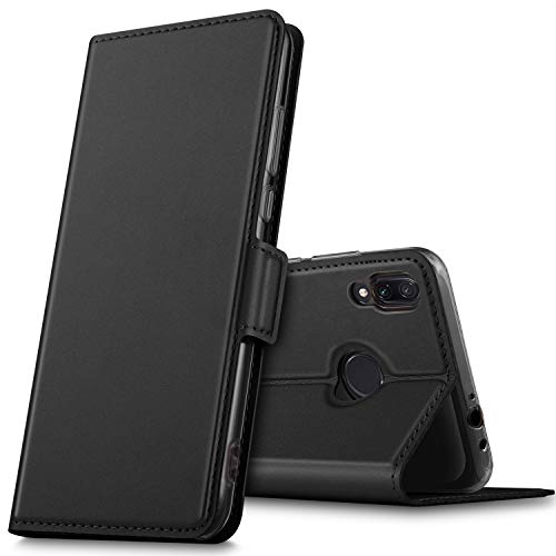 GEEMAI für Xiaomi Redmi Note 7 Hülle, handyhüllen Flip Hülle Wallet Stylish mit Standfunktion & Magnetisch PU Tasche Schutzhülle passt für Xiaomi Redmi Note 7 Pro/Xiaomi Redmi Note 7 Smartphone