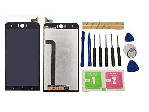 Flügel für Asus Zenfone Selfie ZD551KL Display LCD Ersatzdisplay Schwarz Touchscreen Digitizer Bildschirm Glas Assembly (ohne Rahmen) Ersatzteile & Werkzeuge & Kleber