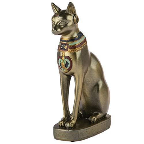 Gato Egipcio Deesse Bastet – Gran Modelo de decoración – Altura 30 cm