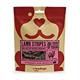 Vivadogs - Tiras de Cordero - 90g - Chuches para Perros - Snacks para Perros - Premios para Perros - Golosinas para Perros - Snacks para Perros Naturales