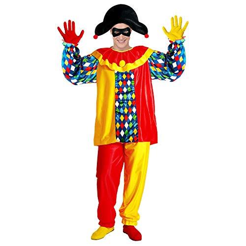 Widmann Adultes Costume Harlequin