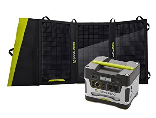 Goal Zero Yeti 400 Solar Generator Kit with Nomad 20 Solar Panel