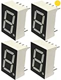 AERZETIX - Juego de 4 - Pantalla digital - Módulo - Paneles Luminoso - 19x12.6x8mm - LED ...