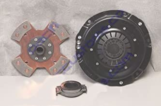 Kennedy 200Mm Clutch Kit Kennedy Stage 2 Pressure Plate, 4 Puck Disc, And Early Throw Out Bearing