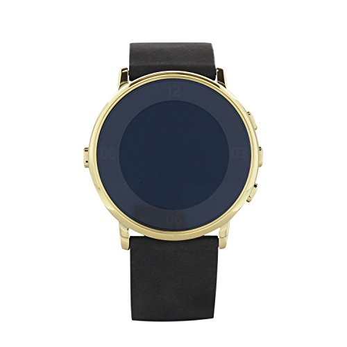Pebble Time Round Polished Gold Smartwatch (601-00079)