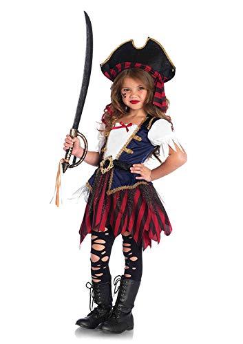 Disfraz de pirata del Caribe de Leg Avenue, talla XS.