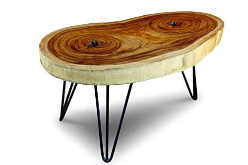 Kinaree Baumscheibe Couchtisch LAEM PHO aus Suar Massivholz