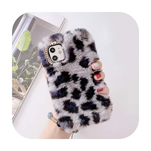 Phone cover Carcasa para iPhone 12 y 11 Pro, Xs, Max Xr X, 8, 7, 6S, Plus, leopardo, suave Tpu