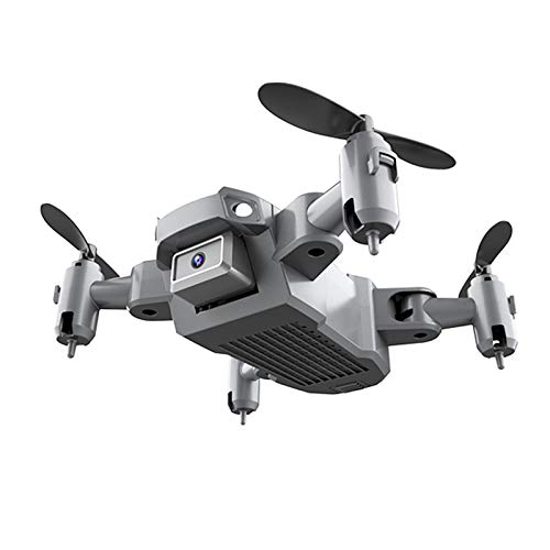 Gazechimp KY905 Mini Drone with 4K Camera for Kids and Adults, WiFi Foldable Drone RC Quadcopter with Headless Mode, One Key Take Off/Landing - 4K Three + Case