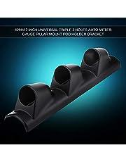 【Cadeau d'Avril】Durable Conveniente para la instalación Antióxido Alta confiabilidad Anticorrosión Soporte de calibre, Soporte de calibre, Cómodo de usar Camión para Auto(Three holes)