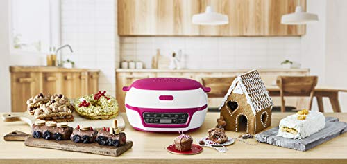Tefal Cake Factory KD801840 Precision Baking Machine with Silicone Moulds...