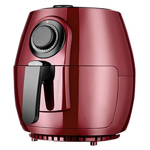 4L freidora aire, sin aceite saludable baja en grasa for cocinar de aire caliente de la freidora eléctrica con la Regulación de la Temperatura y 30 los de temporización de apagado automático, 1300W, R