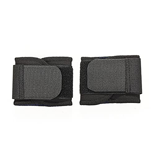 2 piezas Ajustable transpirable Pulseras Soporte de pulsera Brazales para el gimnasio Deporte Baloncesto Carpical Protector transpirable Envuelva la correa de la correa de la correa de cualquier lugar