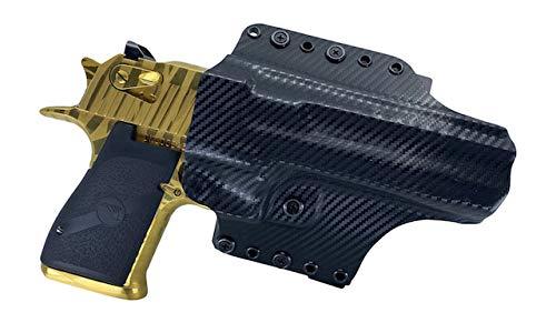 Watchdog Tactical OWB/IWB Holster for Desert Eagle, Right-Handed, Black Carbon Fiber