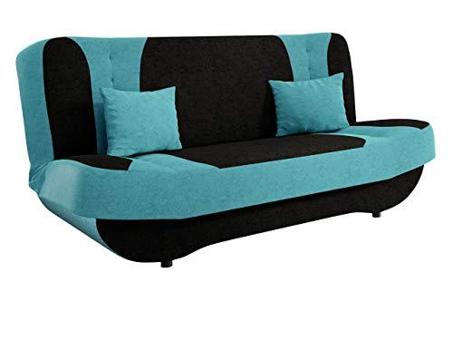 Mirjan24 Sofa Pinto mit Bettkasten und Schlaffunktion, Schlafsofa, Farb- und Materialauswahl, Wohnlandschaft, Couch vom...