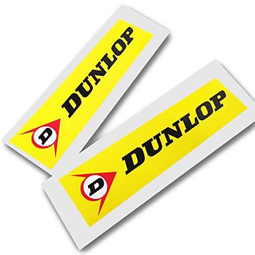 Twisted Melon Dunlop Textsponsor-Aufkleber, klein, 2 Stück