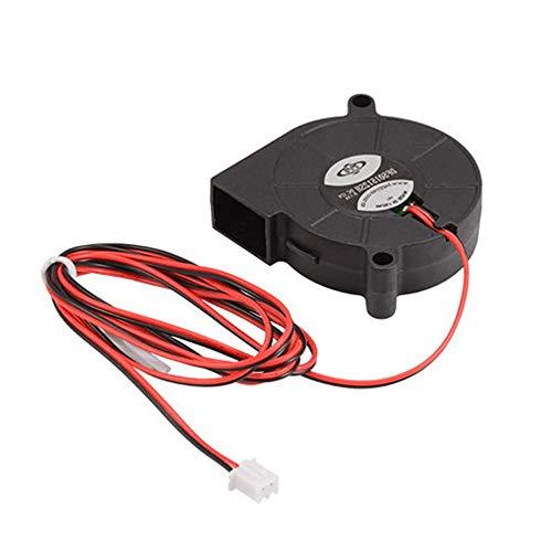 Zubehör für 3D-Drucker 3D Drucker Lüfter Auswurflüfter Lüfter DC 12 V 0,14 A DC 12 V 0,14 A – Schwarz