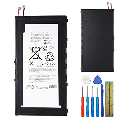 E-yiiviil Batería LIS1569ERPC compatible con Sony Xperia Tablet Z3 Compact SGP611 SGP621 con herramientas