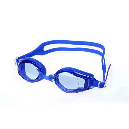 MHP zwembril professionele wedstrijd racebril HD waterdichte anti-mist bril Blauw 2