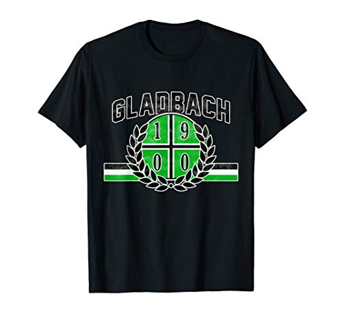 Gladbach Fan Mönchengladbach Fohlen Fußball T-Shirt