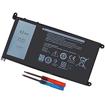 WDX0R Laptop Battery for dell Inspiron 15 7579 7569 5578 5565 5567 5568 5570 5775 5579 7560 7570 13 5378 5368 7375 7368 7378 17 5765 5767 5770 Series P69G001 P58F P58F001 P75F P66F P69G 3CRH3